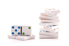 Domino Pieces Royalty Free Stock Photo