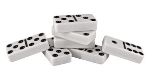 Domino pieces Stock Images