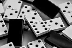 Domino pieces Royalty Free Stock Photography