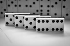 Domino pieces Stock Photo