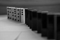 Domino pieces Stock Photos