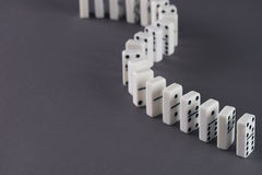 Domino play royalty free stock images