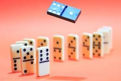 Domino Principle Concept Royalty Free Stock Image