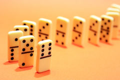 Domino Principle Concept Royalty Free Stock Images