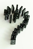 Domino Question Mark Stock Image