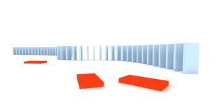 Domino's Vector Illustratie
