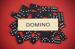 domino's Royalty-vrije Stock Foto's