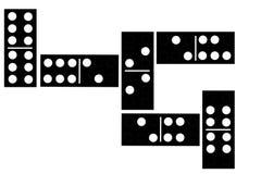 domino s Royaltyfria Bilder