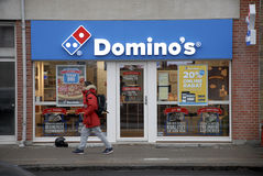 DOMINO'S AMRICAN CHAIN Royalty Free Stock Images