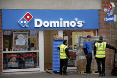 DOMINO'S CHAIN Stock Photos