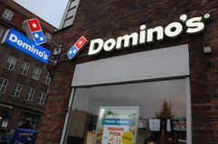 DOMINO`S PIZZA Stock Image