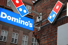 DOMINO`S PIZZA Royalty Free Stock Photo