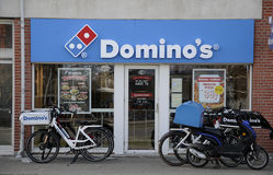 DOMINO`S PIZZA Stock Photography