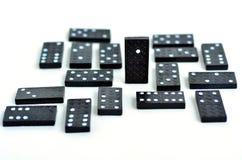Domino se tenant du concept de foule Photographie stock libre de droits