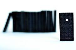 Domino se tenant du concept de foule Image stock