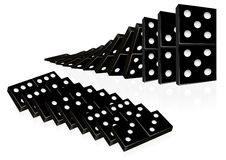 Domino set Royalty Free Stock Image