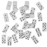 Domino set Obraz Stock