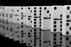 Domino skutek Obraz Stock