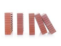 Domino skutek Fotografia Stock