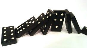 Domino skutek - w stresie Zdjęcia Stock