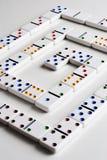 domino sprawozdania akcje Obraz Royalty Free