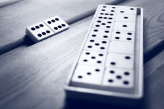 Domino'sspel Stock Fotografie