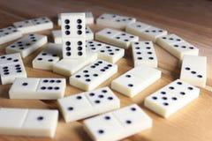 Domino'sspel Royalty-vrije Stock Afbeeldingen