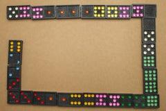 Domino su topview fotografie stock libere da diritti