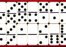 Domino tiles Royalty Free Stock Photo