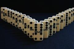 Domino V Stock Photography