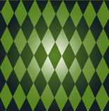 domino zieleń Obrazy Royalty Free