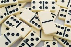 Dominobakgrund royaltyfria bilder