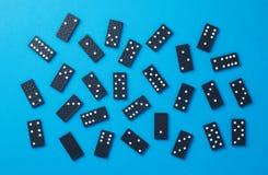 Dominobrickastycken royaltyfria bilder