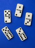Dominobrickastycken Arkivbilder