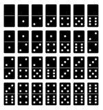 Dominobrickauppsättning Arkivbilder