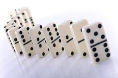 dominoeffekt Royaltyfri Foto