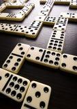 dominoeffekt Royaltyfria Foton