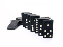 Dominoes. Photo of Dominoes royalty free stock photos