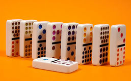Dominoes 3 royalty free stock images