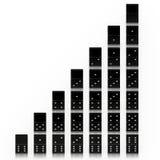 dominoes Stockfoto