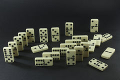 dominoes Stockbilder