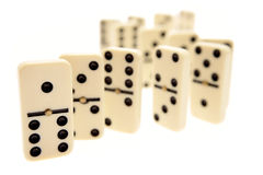 Dominoes Stock Image