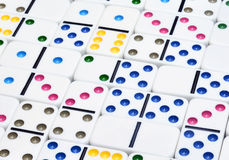 Dominoes stock photo