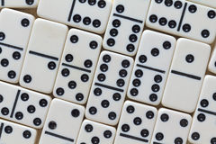 Dominoes Close View Royalty Free Stock Photography