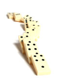 Dominoes concept Royalty Free Stock Image