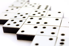 Dominoes concept Royalty Free Stock Photo