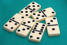 Dominoes game Royalty Free Stock Image