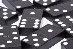 Dominoes Game Pieces Royalty Free Stock Photos