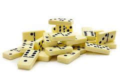 Dominoes Stock Photography