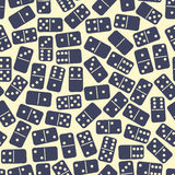 Dominoes pattern Royalty Free Stock Images